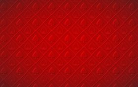 red casino background